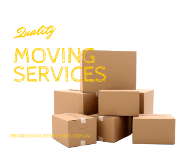 sydney removals, quality moving services